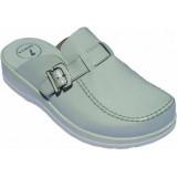 Медицински чехли от естествена кожа. Модел 5010