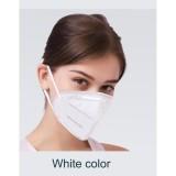 Предпазна сгъваема маска модел KN 95 FFP2- (пакет 5 бр)